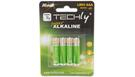 Blister 4 Batterie Mini Stilo AAA Alcaline LR03 1.5V