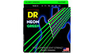 DR STRINGS NGE-9 Neon Hi-Def Green Electric Lite