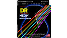 DR STRINGS MCA-11 Neon Hi-Def Multi-Color Acoustic Custom-Lite