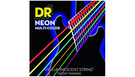 DR STRINGS MCE-9 Neon Hi-Def Multi-Color Electric Lite