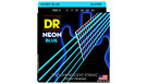 DR STRINGS NBE-9 Neon Hi-Def Blue Electric