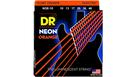 DR STRINGS NOE-10 Neon Orange Medium