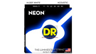 DR STRINGS NWA-11 Neon Hi-Def White Acoustic