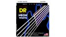 DR STRINGS NWE-9 Neon Hi-Def White Electric