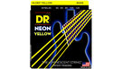 DR STRINGS NYB5-45 Neon Hi-Def Yellow Bass