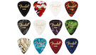 FENDER 351 Shape Celluloid Medley Thin 12 Picks