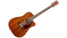 FENDER CD140SCE Dreadnought All Mahogany with Case
