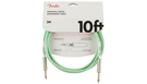 FENDER Original Series Instrument Cable 3m Surf Green