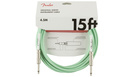 FENDER Original Series Instrument Cable 4.5m Surf Green