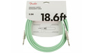 FENDER Original Series Instrument Cable 5.5m Surf Green