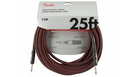 FENDER Professional Series Instrument Cable Straight/Straight 7.5m Red Tweed