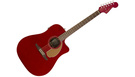 FENDER Redondo Player WN Candy Apple Red