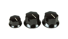 FENDER Standard Jazz Bass Knobs (set da 3)