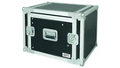 "PROEL Flight Case 8U Rack 19"" con supporto mixer inclinabile"