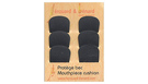 HEROUARD & BENARD Mouthpiece Patches Black - Small