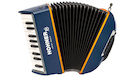 HOHNER XS Accordion Blu/Orange with Bag