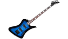JACKSON JS3Q Kelly Bird AH Tansparent Blue Burst