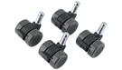 KONIG & MEYER 17510 Caster Set for Guardian Black (4 pcs)