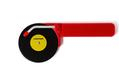 ROCKET Top Spin Pizza Cutter Red