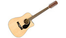 FENDER CD60SCE-12 Natural