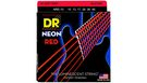 DR STRINGS NRE-10 Neon Hi-Def Red Electric Medium