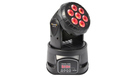 BEAMZ MHL74BK Mini Moving Head Wash 7x10W LED