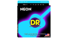 DR STRINGS K3 Neon Hi-Def Blue Acoustic NBA-11