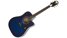 EPIPHONE PRO-1 Ultra Acoustic/Electric Translucent Blue