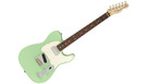 FENDER American Performer Telecaster HUM RW Satin Surf Green