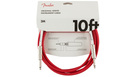 FENDER Original Series Instrument Cable 3m Fiesta Red