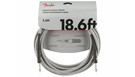 FENDER Professional Series Instrument Cable Straight/Straight 5.5m White Tweed