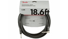 FENDER Professional Series Instrument Cable Straight/Angle 5.5m Black