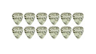 TAYLOR Celluloid 351 Guitar Picks Abalone .96mm (Heavy) 12-Pack