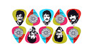 D'ADDARIO Beatles Signatures Pepper Picks Set (10 plettri)