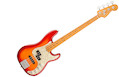 FENDER AM ULTRA P Bass MN Plasma Red Burst
