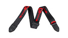 CHARVEL Logo Straps Black with Red Logo