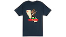 FENDER Rocks Cali T-Shirt Navy XXXL
