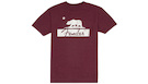 FENDER Burgundy Bear Unisex T-Shirt S