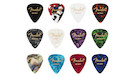 FENDER 351 Shape Celluloid Medley Heavy 12 Picks