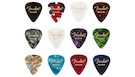 FENDER 351 Shape Celluloid Medley Medium 12 Picks