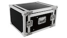 "Flight Case 6 Unità Rack 19"" con Supporto Mixer Inclinabile"
