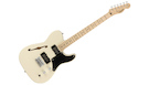 FENDER Squier Paranormal Cabronita Telecaster Thinline MN Olympic White