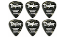 TAYLOR Premium 351 Thermex Black Onyx Guitar Picks 1.25mm (6-pack)