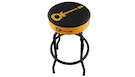 CHARVEL Bar Stool Guitar Logo Black/Yellow 30