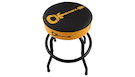 CHARVEL Bar Stool Guitar Logo Black/Yellow 24