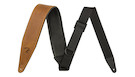 FENDER Right Height Leather Strap - Cognac