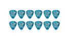 FENDER  351 Shape Premium Picks Extra Heavy - Ocean Turquoise (12 Count)