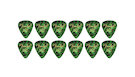 FENDER 351 Shape Premium Picks Extra Heavy - Green Moto (12 Count)