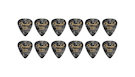 FENDER  351 Shape Premium Picks Extra Heavy - Black Moto (12 Count)