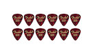 FENDER  351 Shape Premium Picks Extra Heavy - Red Moto (12 Count)
